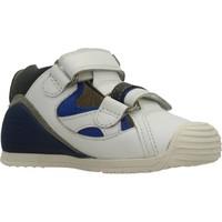 Sapatos Rapaz Sandálias Biomecanics SANDALIA SAUVAGE Branco