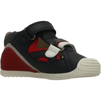 Sapatos Rapaz Sandálias Biomecanics SANDALIA SAUVAGE Azul