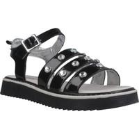 Sapatos Rapariga Sandálias Asso AG6703 Preto