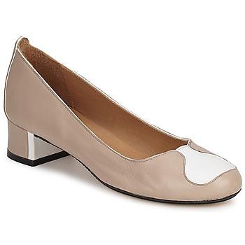 Sapatos Mulher Escarpim Robert Clergerie SALSA Bege-branco