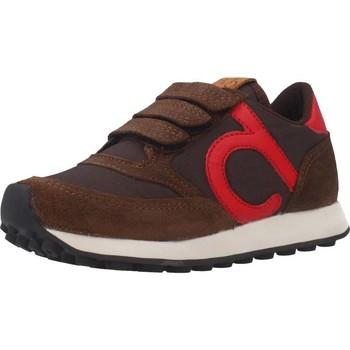 Sapatos Rapaz Sapatilhas Duuo D400026 Marron