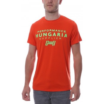 Textil Homem T-Shirt mangas curtas Hungaria  Laranja