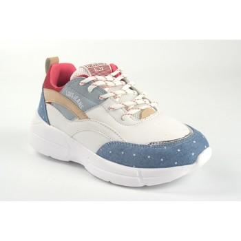Sapatos Rapariga Sapatilhas Lois Sapato feminino  63074 bl.azu Blanc