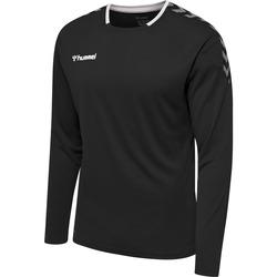 Textil Homem T-shirt mangas compridas Hummel Maillot  manches longues hmlAUTHENTIC Poly noir/blanc
