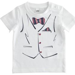 Textil Rapaz T-Shirt mangas curtas Ido 4J692 Branco