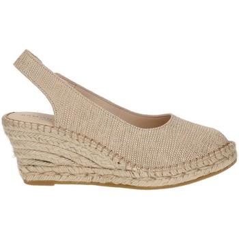 Sapatos Mulher Alpargatas Ramoncinas ESPADRILLES VIBORA 5 CORDAS BEIGE