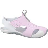 Sapatos Criança Sapatilhas Nike Sunray Protect 2 PS Branco, Cor-de-rosa