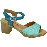 Sapatos Mulher Sandálias Fanny Valero  Azul