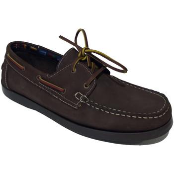 Sapatos Sapato de vela Bipedes Vela Nobuck castanho Castanho