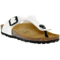 Sapatos Rapaz Chinelos Gold Star BIANCO VERNICE Bianco