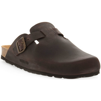 Sapatos Homem Tamancos Grunland MARRONE 40 SARA Marrone