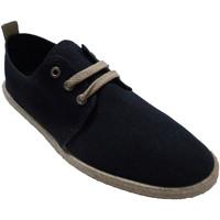 Sapatos Homem Chinelos Calzamur Sapatilhas masculinas atacadores palmilh azul