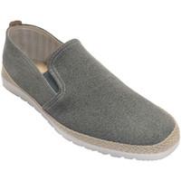 Sapatos Homem Chinelos Calzamur Palmilha de couro masculina com borda de gris