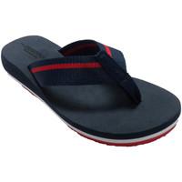 Sapatos Mulher Chinelos Gioseppo Chinelos de praia com dedo do pé mulher azul