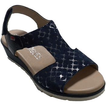 Sapatos Mulher Sandálias Pepe Menargues Sandália de verão para mulher Pepe Menar azul