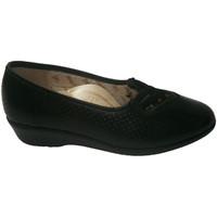 Sapatos Mulher Escarpim Doctor Cutillas Sapato feminino de céu aberto com elásti negro