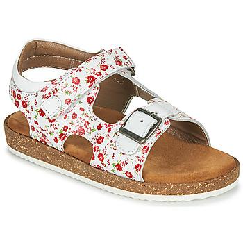 Sapatos Rapariga Sandálias Kickers FUNKYO Branco