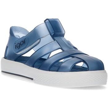 Sapatos Rapaz Sandálias Igor BALDE DE ÁGUA  CRIANÇAS AZUL