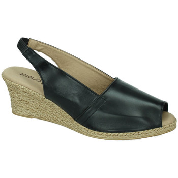 Sapatos Mulher Sandálias Lorena Massó  Preto