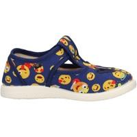 Sapatos Rapaz Sapatos Coccole - Occhio di bue  blu 125 SMILE BLU