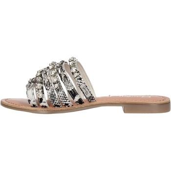 Sapatos Mulher Sapatos aquáticos Gardini - Ciabatta  argento 090 ARGENTO