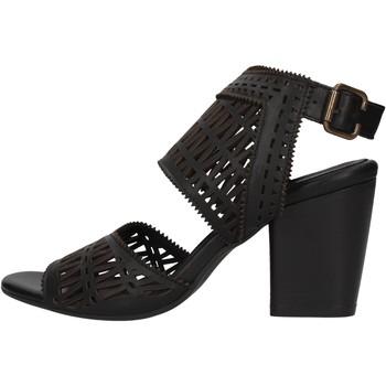 Sapatos Mulher Sapatos aquáticos Bueno Shoes - Sandalo nero 1004 NERO
