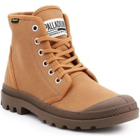 Sapatos Homem Sapatilhas de cano-alto Palladium Manufacture Pampa HI Originale 75349-230-M brown