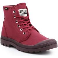 Sapatos Homem Sapatilhas de cano-alto Palladium Manufacture Pampa HI Oryginale 75349-604-M burgundy