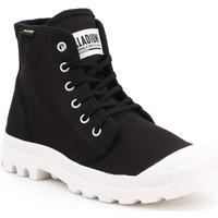 Sapatos Homem Sapatilhas de cano-alto Palladium Manufacture Pampa HI Originale 75349-016-M black