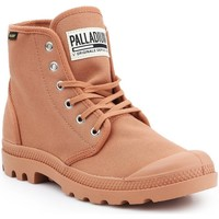 Sapatos Homem Sapatilhas de cano-alto Palladium Manufacture Pampa HI Originale 75349-225-M brown