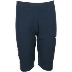 Textil Rapariga Collants Fila Tammy Short Leggings Kids Azul