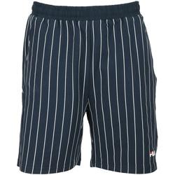 Textil Rapaz Shorts / Bermudas Fila Tamara AOP Kids Azul