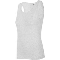 Textil Mulher Tops sem mangas 4F TSD003 Cinzento