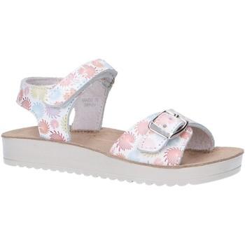 Sapatos Rapariga Sandálias Kickers 784530-30 ODYSSA Blanco