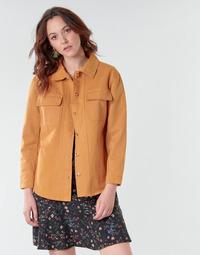 Textil Mulher Casacos/Blazers Betty London NISOI Conhaque
