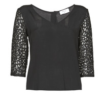Textil Mulher Tops / Blusas Betty London NIXE Preto