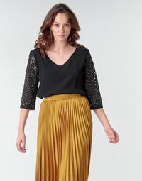 Textil Mulher Tops / Blusas Betty London NIXE Preto