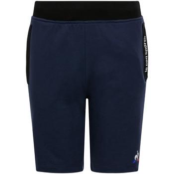 Textil Criança Shorts / Bermudas Le Coq Sportif Ess Short Regular N Azul