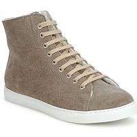 Sapatos Sapatilhas de cano-alto Swamp MONTONE SUEDE Cinza