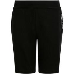 Textil Criança Shorts / Bermudas Le Coq Sportif Ess Short Regular N Preto