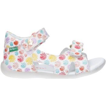 Sapatos Rapariga Sandálias desportivas Kickers 696353-10 BINSIA-2 Blanco