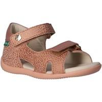 Sapatos Criança Sandálias desportivas Kickers 696354-10 BINSIA-2 Rosa