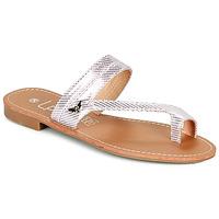 Sapatos Mulher Chinelos Les Petites Bombes EVA Rosa / Prata