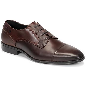 Sapatos Homem Sapatos Carlington NIMALE Castanho