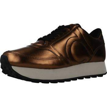 Sapatos Mulher Sapatilhas Duuo PRISA HIGH 001 Ouro