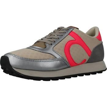 Sapatos Mulher Sapatilhas Duuo PRISA KID LACE 031 Beis