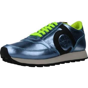 Sapatos Mulher Sapatilhas Duuo PRISA KID LACE 033 Azul