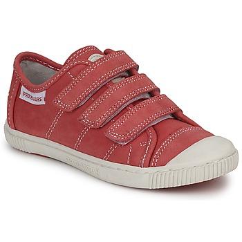 Sapatos Criança Sapatilhas Pataugas BISTRO Vermelho