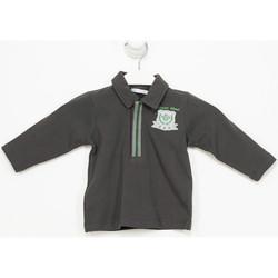 Textil Rapaz Polos mangas compridas Tutto Piccolo Polo m/larga Cinza