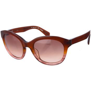Relógios & jóias Mulher óculos de sol Jil Sander Gafas de Sol Castanho